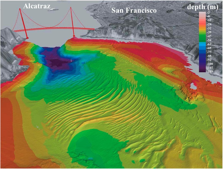 Ocean Floor Elevation Map : Ocean floor topography map