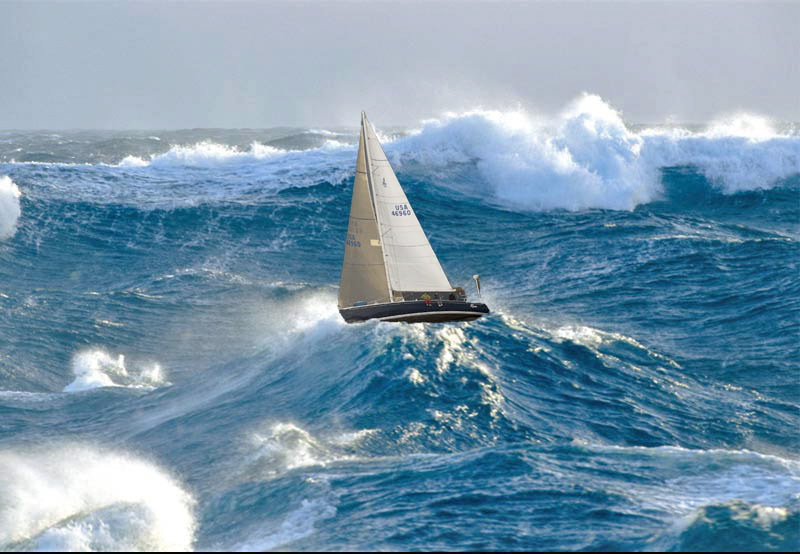 The Horse S Mouth Sailing Photo Of The Day Big Seas