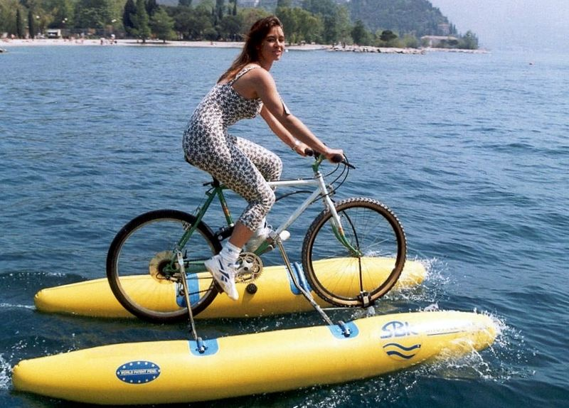 Inflatable boat-shuttle bike kit502