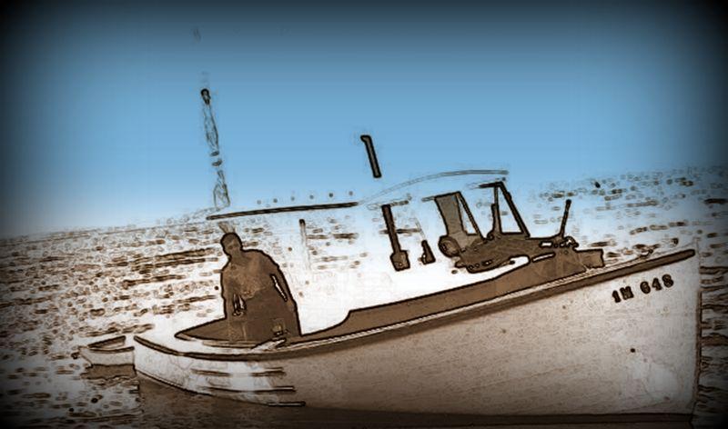 Harbor buoy bell lobster boat3