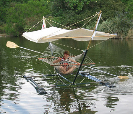 Hammock-boat