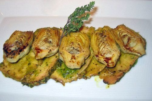 Pesto pork