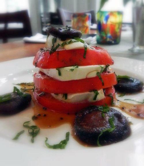Tomato mozzarella mushroom