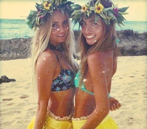 Aloha wahines