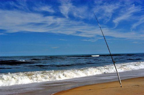 Fishing-Rod-on-Beach