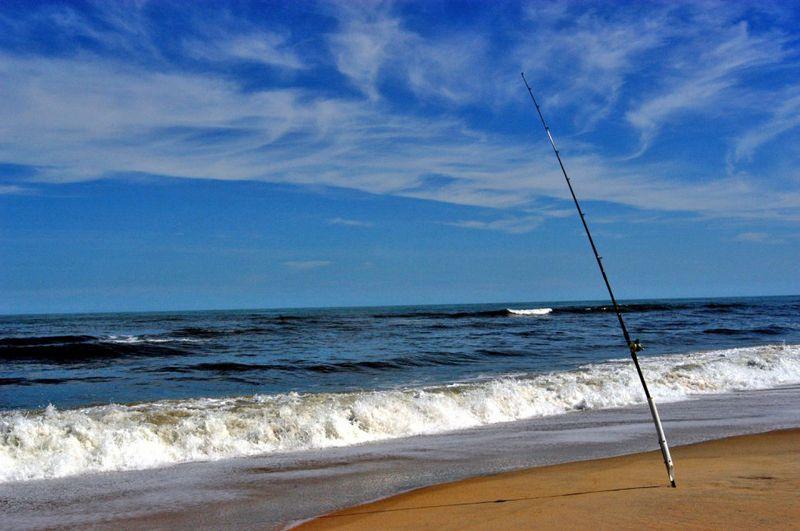 Fishing-Rod-on-Beach