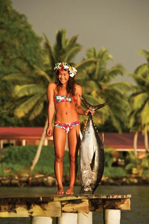 Aloha its fish on fridays
