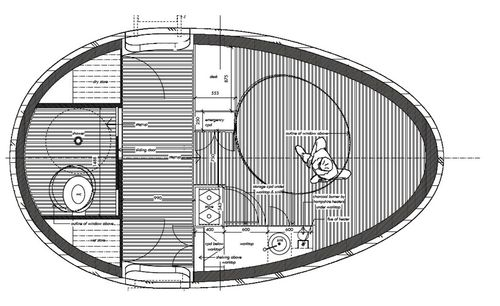 Exbury egg floorplan