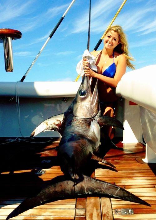 Wahine-swordfish