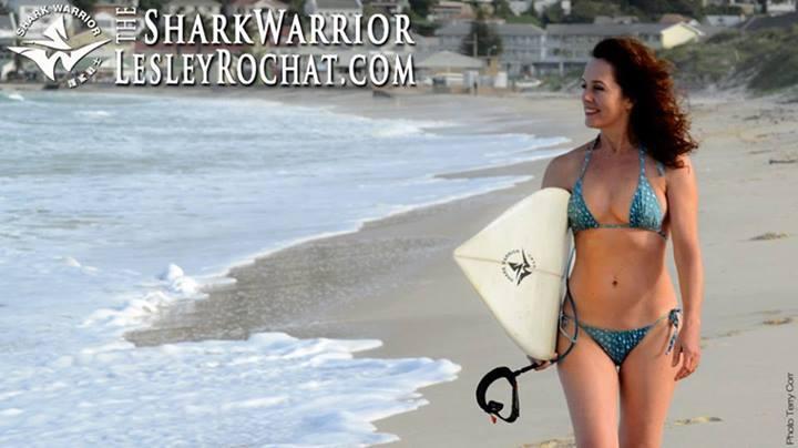 Leslie Rochat Shark Warrior