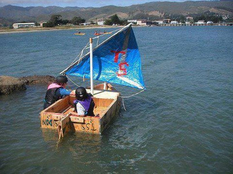 Soap box dinghy