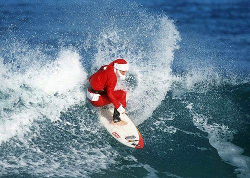 Santa shreds