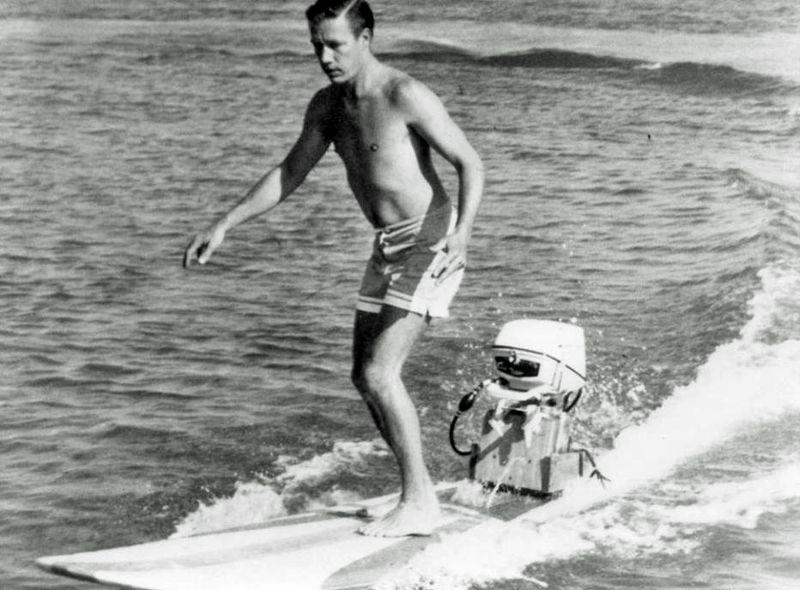 Hobie alter moto surfboard