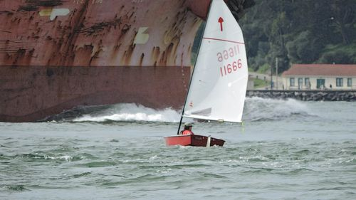 Sailing photo of the day. John Amen