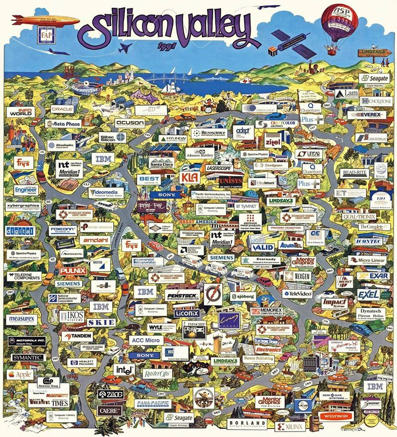 Silicon valley 1991