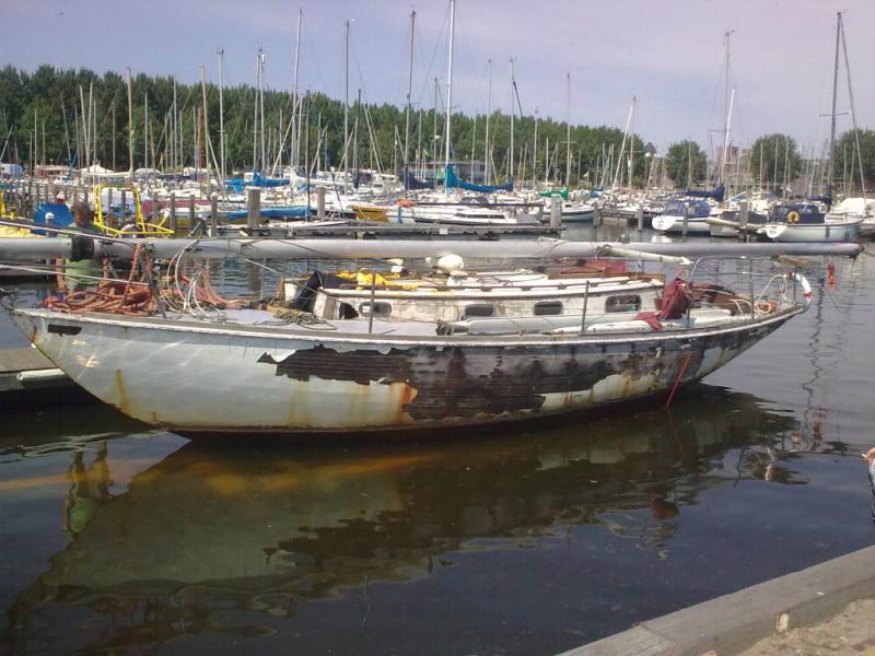 Sad boat