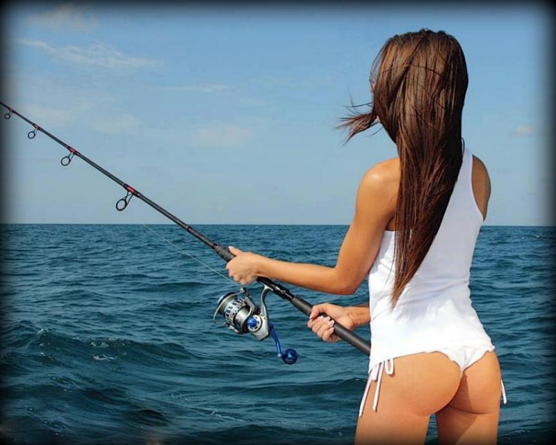 Fishing-girl