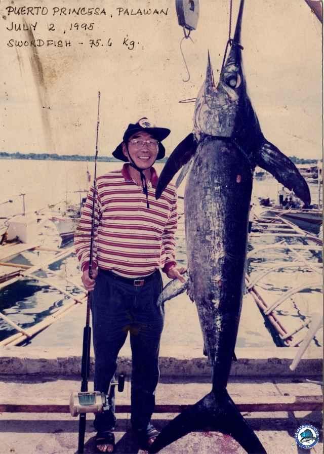 Old school fishing