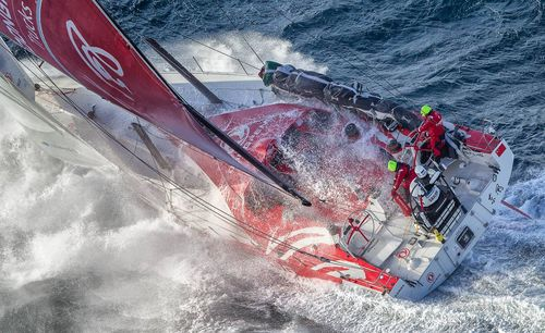 Dongfeng Race Team. Photo by Ainhoa Sanchez