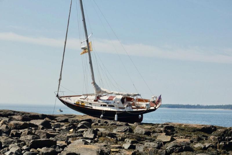 Hinckley-aground